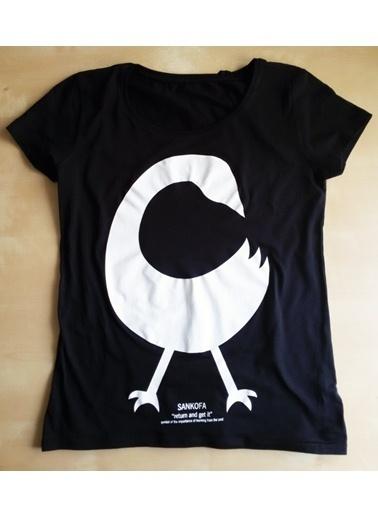 Kaçuv Tişört Siyah